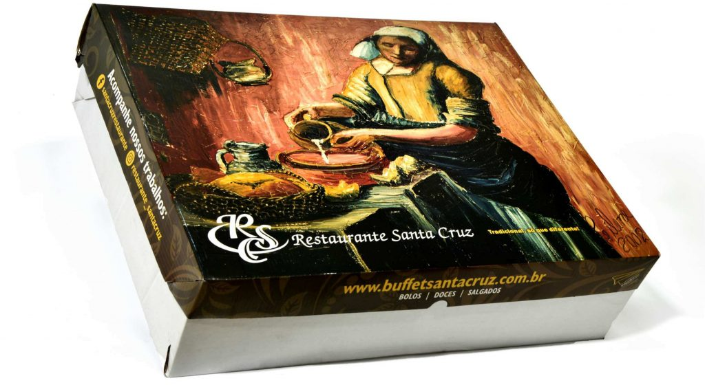 Embalagem do Grupo Santa Cruz